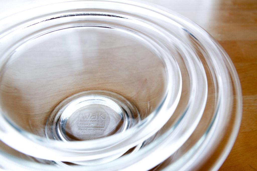 iwaki 耐熱 ガラス ボウル