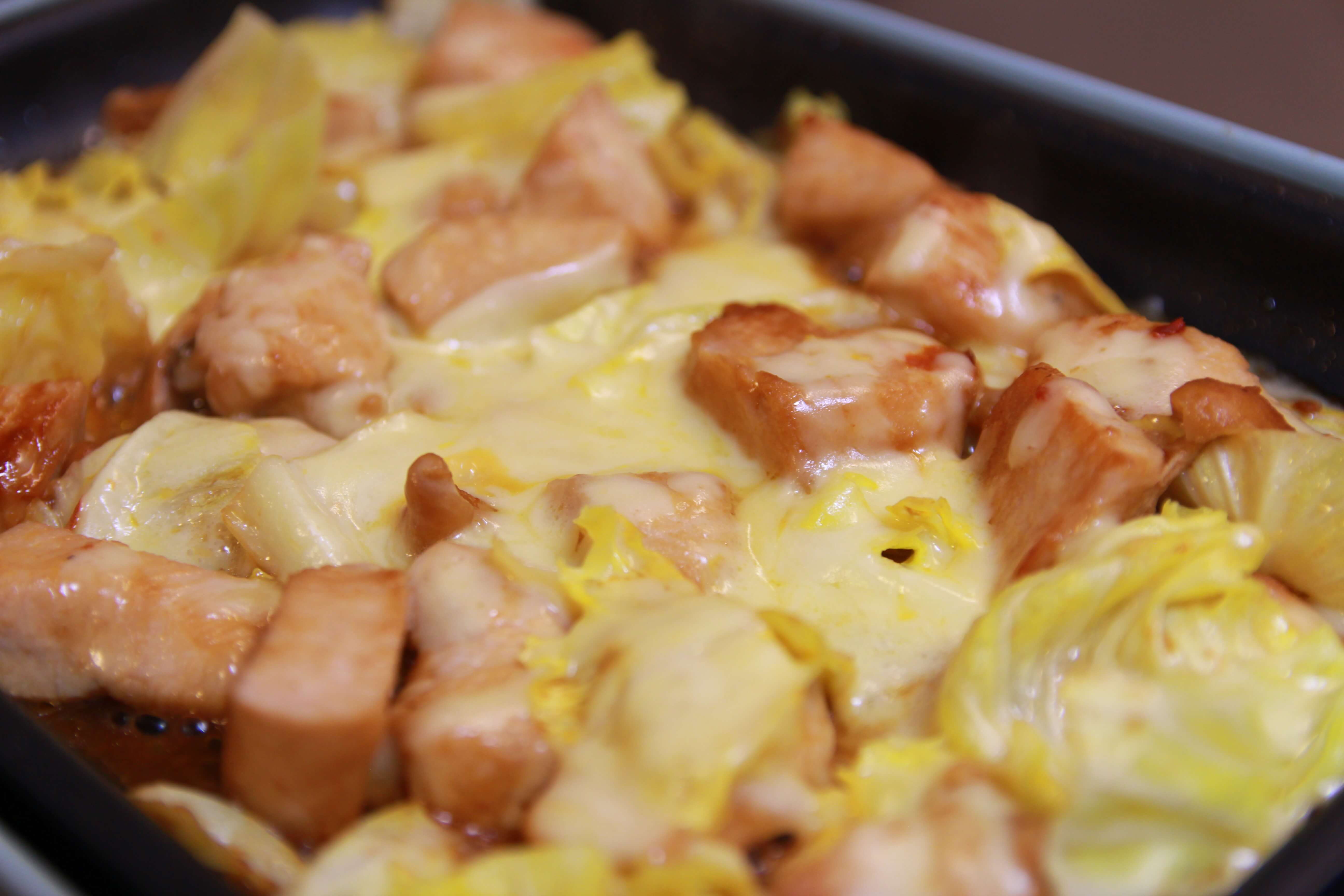チーズタッカルビの作り方